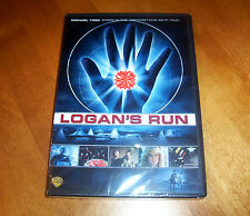 LOGAN'S RUN Classic Sci-Fi Science Fiction 1970's 70's Era Michael York DVD NEW