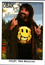TNA Mick Foley #97 OBAK Retro Card Short Print LE /600 2010 Tristar New Era FD