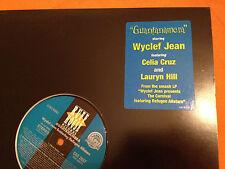 "WYCLEF JEAN feat Refugee Allstars - Guantanamera - '97 US PROMO 12""  MINT !!"