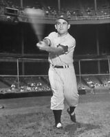 New York Yankees YOGI BERRA Glossy 8x10 Photo Baseball Reprint Photograph