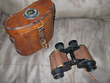 ANTIQUE WW1 WWI MILITARY BINOCULARS NO.E 202222 US ARMY SIGNAL CORPS TALBOT REEL