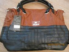 Women Fashion Bag A - Brown Leather Handbag/Tote/Purse/Retro Messenger Bag