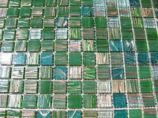 Glasmosaik Fliesen grün GOLDENE-SEIDE! - GOLDREGEN  69