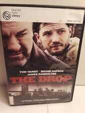 The Drop (DVD, 2015) Ex-Library Tom Hardy