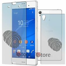 4 Film Matt For Sony Xperia Z3 D6603 D6653 double-sided Anti-fingerprint Screen