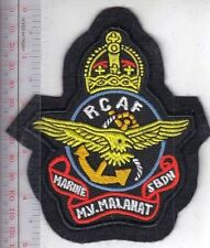 Canada Royal Canadian Air Force RCAF WWII MV Marine Vessel Malahat Squadron