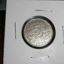 CANADA 1926 NEAR 5 CENTS COIN