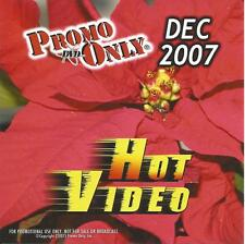 PROMO ONLY- New, DVD HOT VIDEO DEC.-2007,Maroon 5,Gwen Stefani,Enrique Iglesias