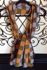 "les copains Soft 100% wool scarf Unisex 73"" X 17.5"""