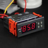 10A 110V Digital Temperature Controller Temp Sensor Thermostat Control Relay US