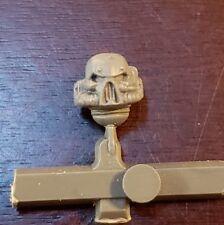 Warhammer 40k Chaos Space Marines Squad Bits:Head - Skull Heresy Pips Helmet