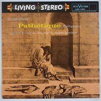 TCHAIKOVSKY: Pathetique Munch RCA LIVING STEREO LSC-1901 Classic Records LP NM