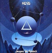 FREE US SHIP. on ANY 3+ CDs! NEW CD De Komimck, Jacques: Keys