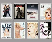More details for madonna poster prints music wall art tour poster movie print.a3, a4, a5 sizes