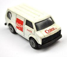 COCA-COLA COCA COLA EE.UU. 1988 Modelo Auto DIE-CAST CAR - VAN FURGONETA