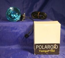 1967 Vintage Polaroid Flashgun #268 w/ Print Mounts and Instructions
