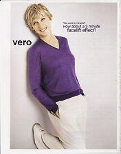 2011 magazine ad ELLEN DEGENERES - COVERGIRL - OLAY clipping advert print