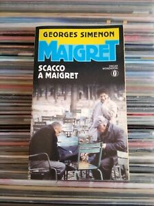 """SCACCO A MAIGRET""  Georges Simenon"