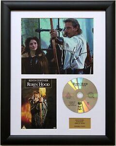 Kevin Costner / Robin Hood / Signed Photo / Autograph / Framed / COA