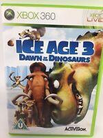 Ice Age 3 Dawn Of The Dinosaurs XBOX 360 PAL European Version Microsoft 2009