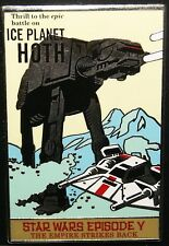 Disney Star Wars Episode V-Ice Planet Hoth Poster Pin Jungle Cruise New On Card