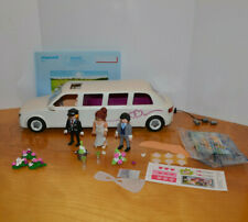 PLAYMOBIL WEDDING LIMO PLAYSET COMPLETE WITH MINI ACTION FIGURES GEOBRA