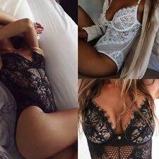 Sexty, Da Donna Orsetto Lingerie Intimo Notte Perizoma Pizzo Biancheria Babydoll