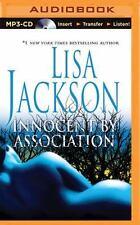 Innocent by Association by Lisa Jackson (2015, MP3 CD, Unabridged)