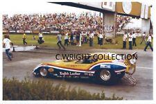 "Drag Racing-TOM ""Mongoose"" McEWEN-1977 Corvette AA/FC-1977 NHRA US Nationals"