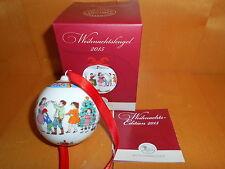 Hutschenreuther Weihnachtskugel Porzellan 2015