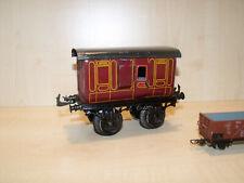 6671) BING uralt - Spur 1 - Gepäckwagen GUARD - L. 15 cm - selten -