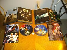 Star Wars Trilogy (DVD, 2004, 4-Disc Set, Full Screen)