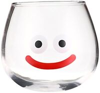 Square Enix Dragon Quest Smaile Slime Glass Cup Yurayura New from Japan