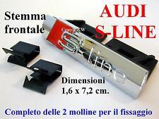 AUDI S S-line LUCIDO POLISH A1 A3 A4 A5 A6 TT Stemma Badge Logo Calandra Griglia