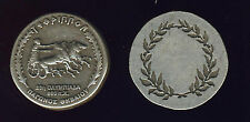 """Greece. Greek Medal """"TETHRIPPON"""", Games Horses, Racing in Ancient Olympic Games."""