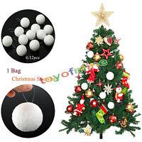 6 piezas arbol de Navidad Bolas Liso Con BRICOLAJE Decoracion Navidad