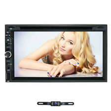 7 Inch Double 2DIN Touchscreen Stereo Car CD DVD Player FM iPod Bluetooth Radio