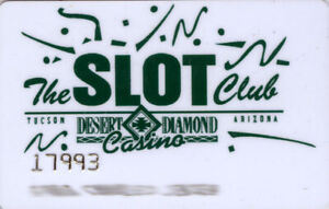 Desert Diamond Casino - Slot Card