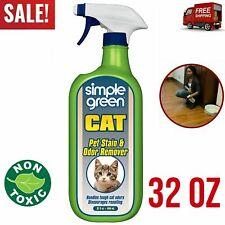 Pet Active Stain & Odor Remover Cat Dog Urine Eliminator Carpet Cleaner 32 Oz