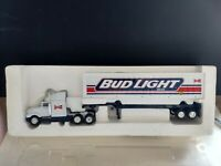 BUD LIGHT BEER TRAILER, Die-CAST, 1:64. MDK. Never Displayed. New Without Box.