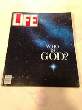 LIFE MAGAZINE DECEMBER 1990 WHO IS GOD? VINTAGE ADVERTISEMENTS