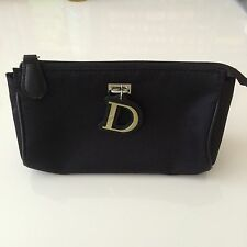 CHRISTIAN DIOR Parfums Cosmetic Makeup Bag Pouch Purse