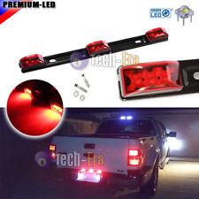 "14"" Red 3-LED Truck/Trailer ID Light Bar For Pickup Ford F150 F250 Dodge RAM,etc"