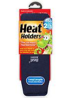 Boys Girls Thermal Heat Holder Socks Size 9-1 Uk, 27-33 Eur, 9.5-2 US Navy