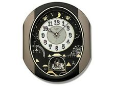 Rhythm 4Mh751Wd18 Small World Moving Wall Clock Night Time Shut Off Control