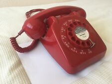 Vintage Retro GPO 706 Telephone Red - Excellent Condition - Fully Working