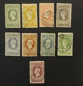1913 JUBILEUM 21/2CT-1GLD VF USED NETHERLANDS NEDERLAND B227.27 $0.99