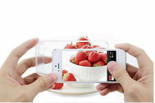 iPhone 4 4S Ultra Clear Transparent Soft Gel cover case & Screen Protector