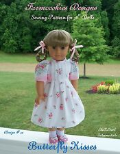 SEWING PATTERN for American Girl Doll Maryellen by Farmcookies /Butterfly Kisses