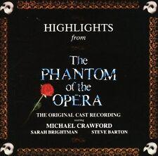 Phantom of the Opera - Phantom of Opera Highlights / O.C.R. [New CD]